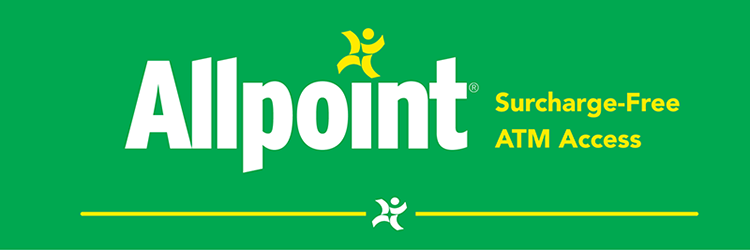 Surcharge Free ATM Allpoint Logo
